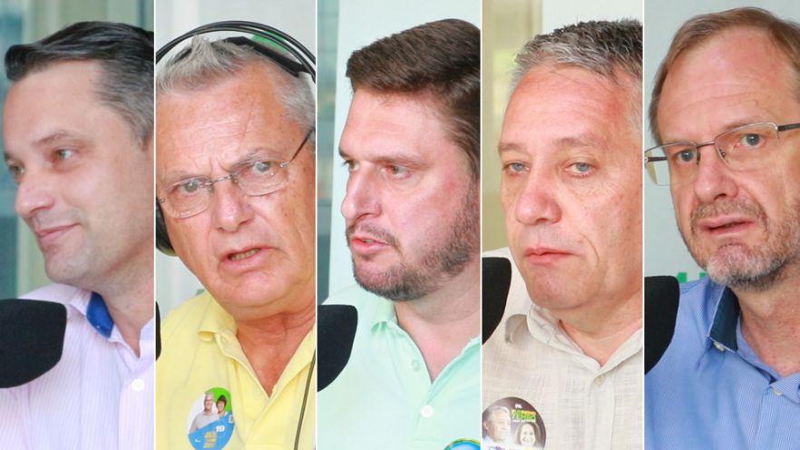 Série de entrevistas com os candidatos à prefeitura de Rio do Sul