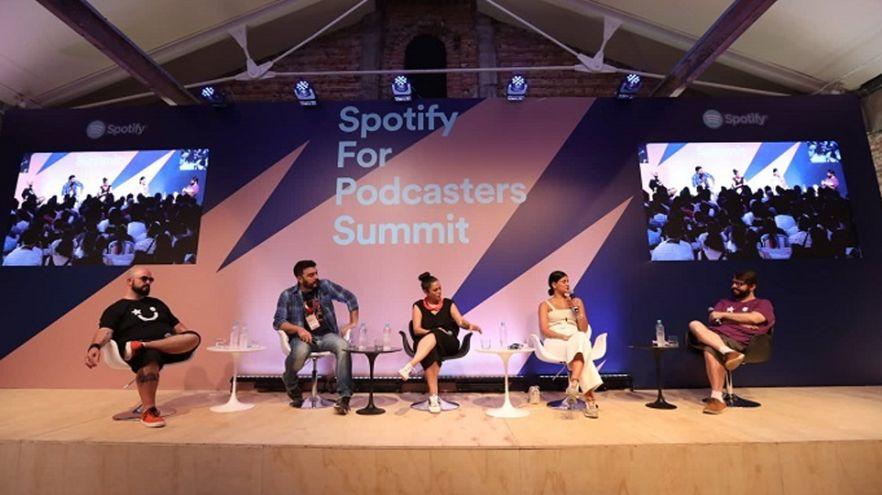 Spotify realiza evento focado em podcasts em São Paulo