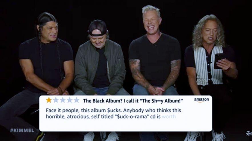 Metallica reage a avaliações negativas a seu álbum mais famoso: Black Album